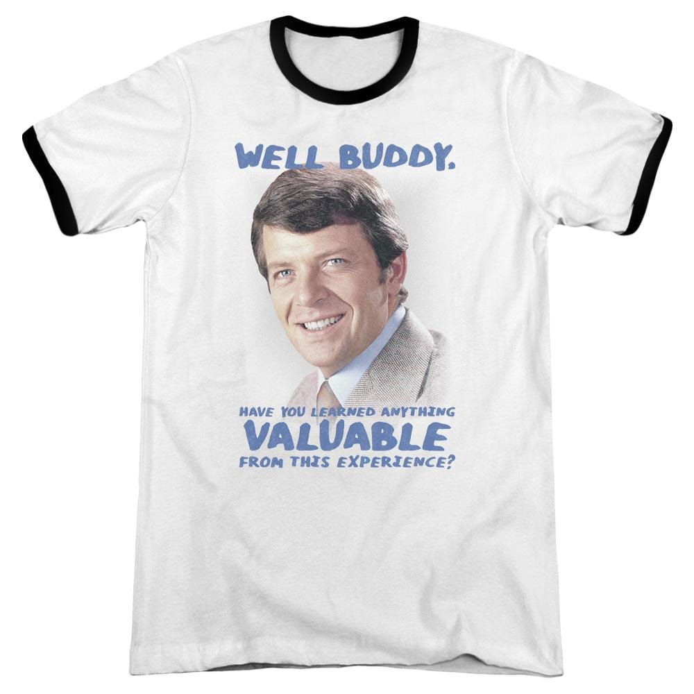 Brady Bunch - Buddy Adult Ringer T- Shirt