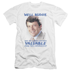 Brady Bunch Buddy Premium Adult Slim Fit T-Shirt