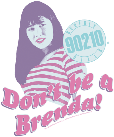 Beverly Hills 90210 Dont Be A Brenda Kid's T-Shirt (Ages 4-7)