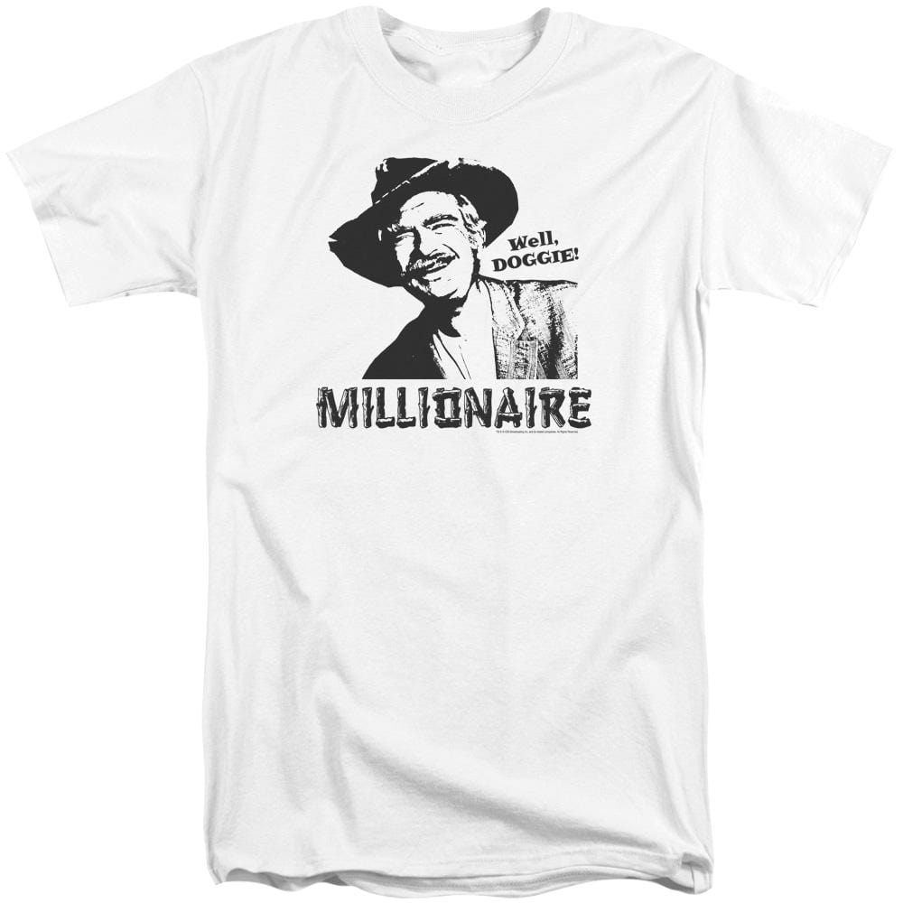 Beverly Hillbillies Millionaire Adult Tall Fit T-Shirt