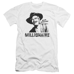 Beverly Hillbillies Millionaire Premium Adult Slim Fit T-Shirt