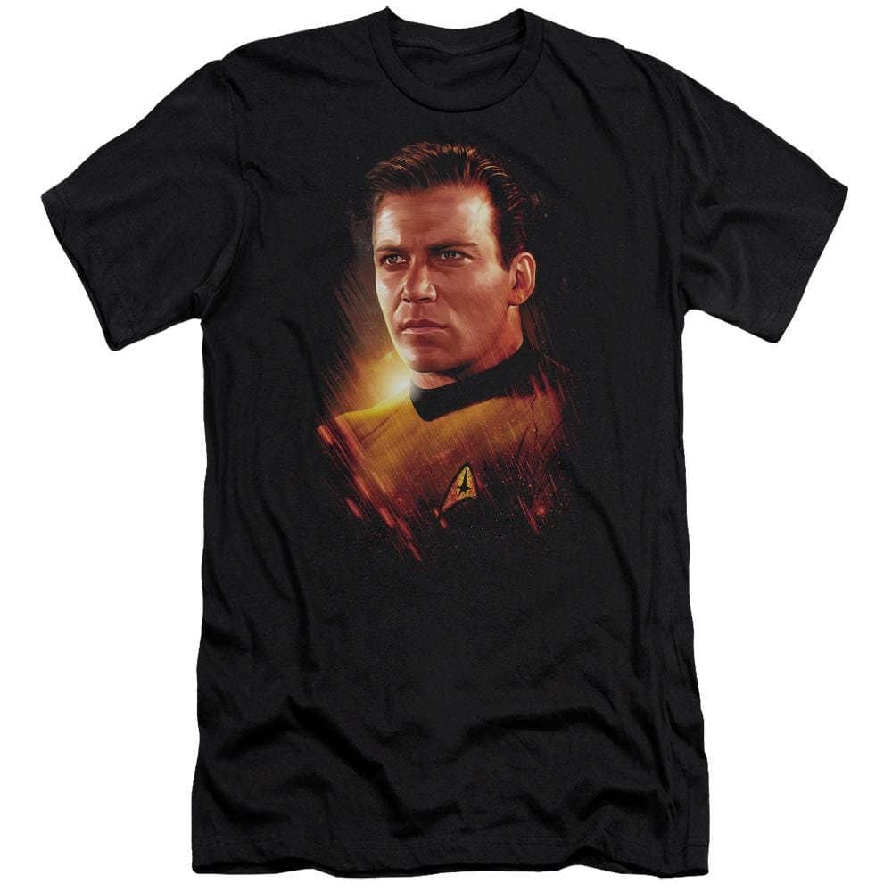 Star Trek Epic Kirk Premium Adult Slim Fit T-Shirt