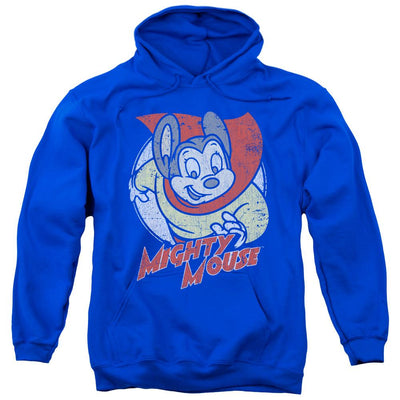 Mighty Mouse Mighty Circle Pullover Hoodie