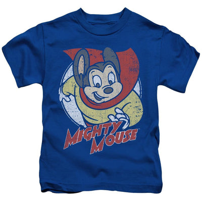 Mighty Mouse Mighty Circle Kid's T-Shirt (Ages 4-7)
