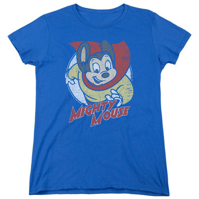 Mighty Mouse Mighty Circle Women's T-Shirt