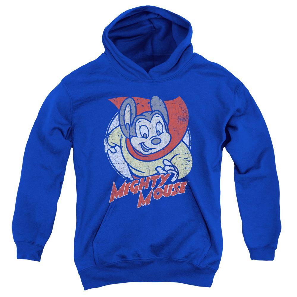 Mighty Mouse Mighty Circle Youth Pull-Over Hoodie