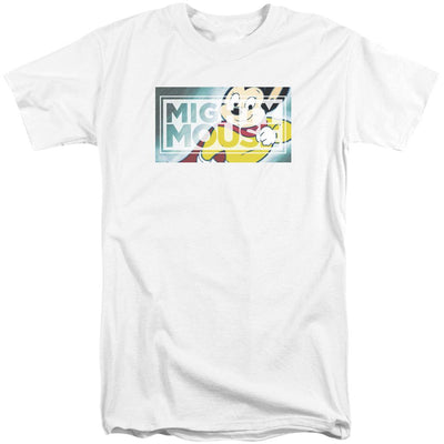 Mighty Mouse Mighty Rectangle Men's Tall Fit T-Shirt