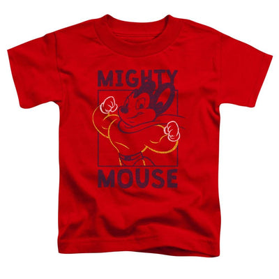 Mighty Mouse Break The Box Toddler T-Shirt