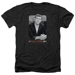 Andy Griffith Classic Andy Adult Regular Fit Heather T-Shirt