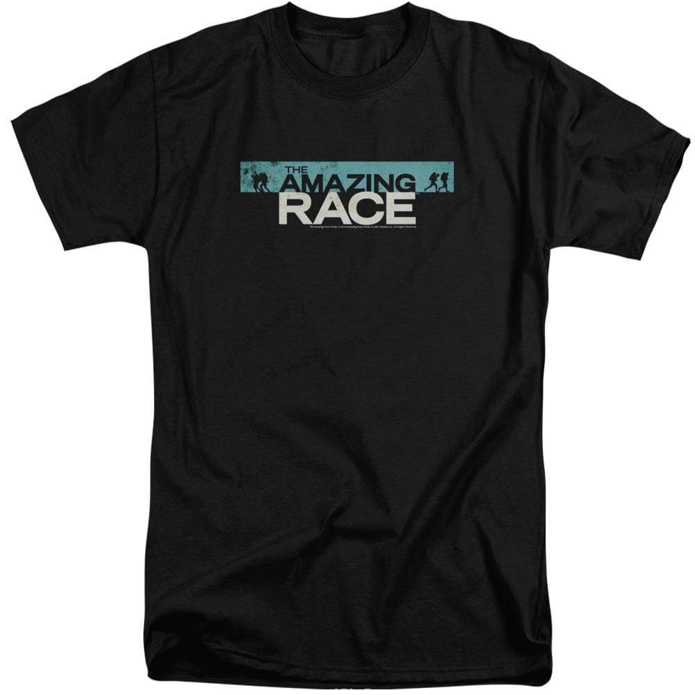 Amazing Race Bar Logo Adult Tall Fit T-Shirt