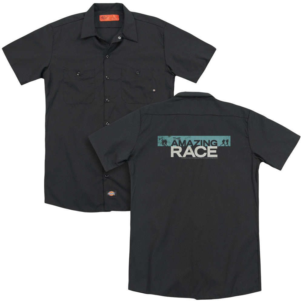 Amazing Race Bar Logo Adult Work Shirt