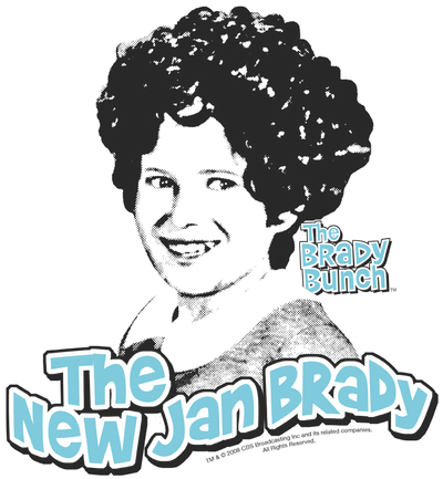 Brady Bunch The Real Jan Brady Youth T-Shirt (Ages 8-12)