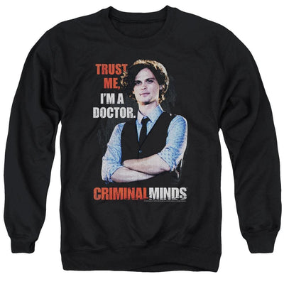 Criminal Minds Trust Me Men's Crewneck Sweatshirt