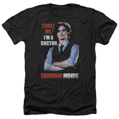 Criminal Minds Trust Me Adult Regular Fit Heather T-Shirt