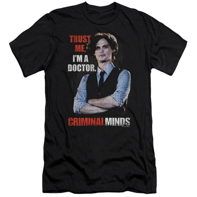 Criminal Minds Trust Me Men's Premium Slim Fit T-Shirt