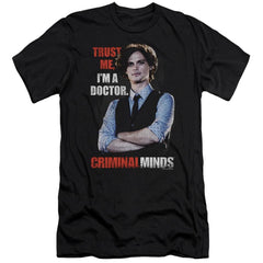 Criminal Minds Trust Me Premium Adult Slim Fit T-Shirt