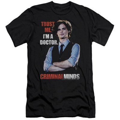 Criminal Minds Trust Me Men's Slim Fit T-Shirt
