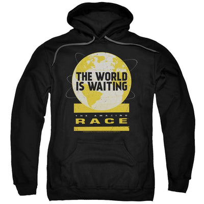 The Amazing Race Waiting World Pullover Hoodie