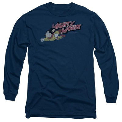 Mighty Mouse Mighty Retro Men's Long Sleeve T-Shirt