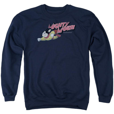 Mighty Mouse Mighty Retro Men's Crewneck Sweatshirt