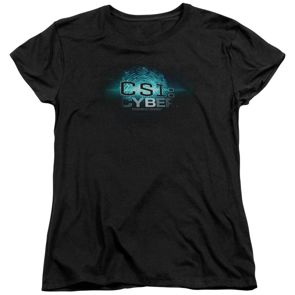 Csi: Cyber Thumb Print Women's T-Shirt