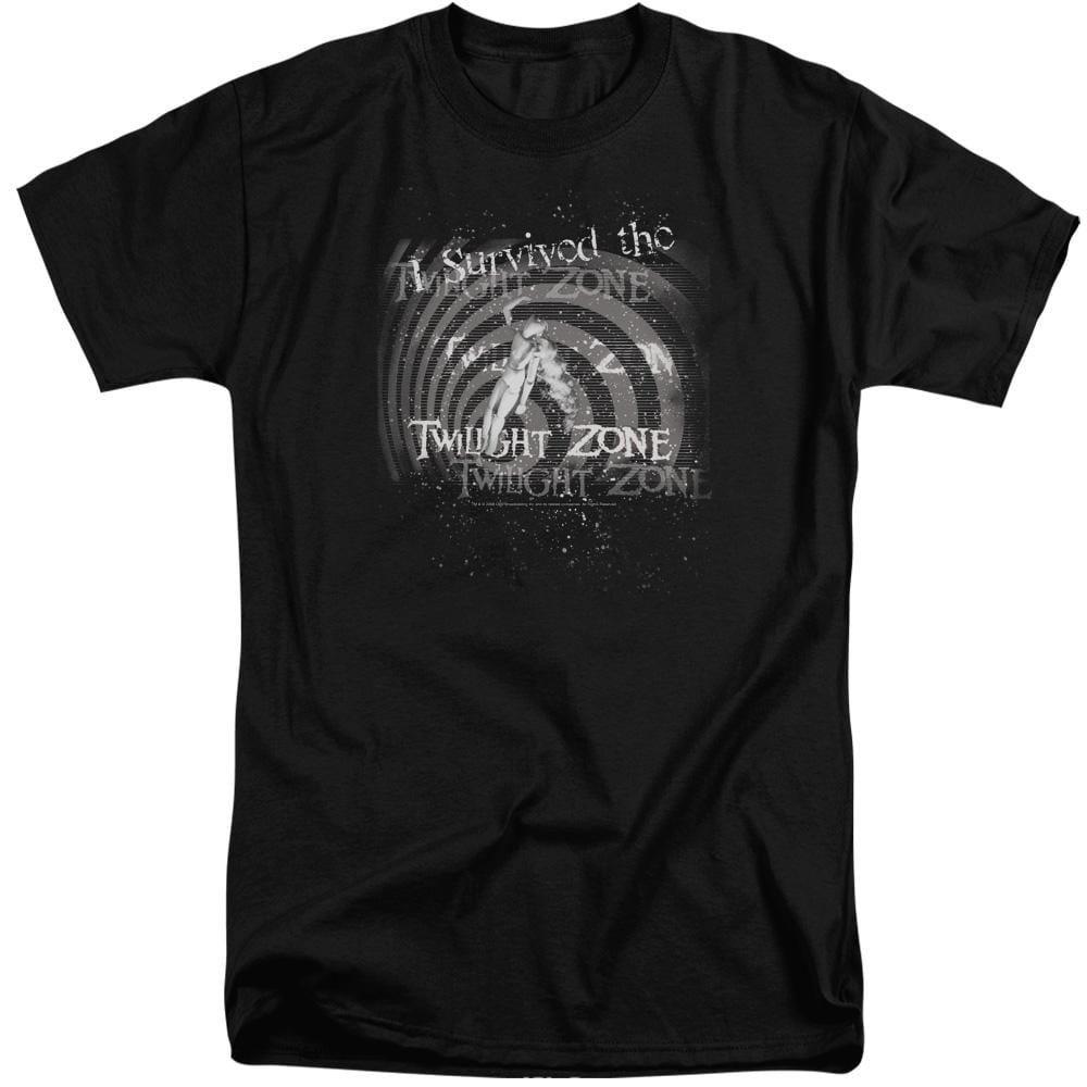 Twilight Zone I Survived Adult Tall Fit T-Shirt