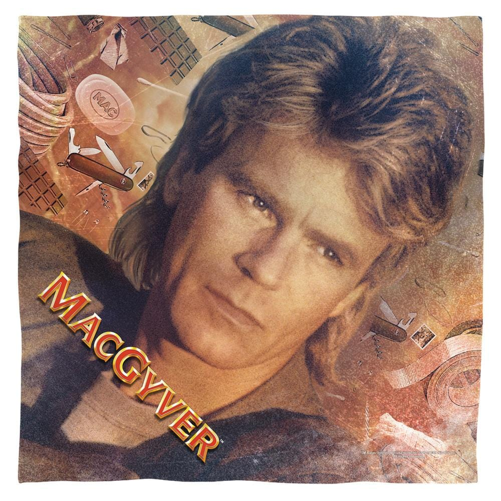 Macgyver - Tools Of The Trade Bandana