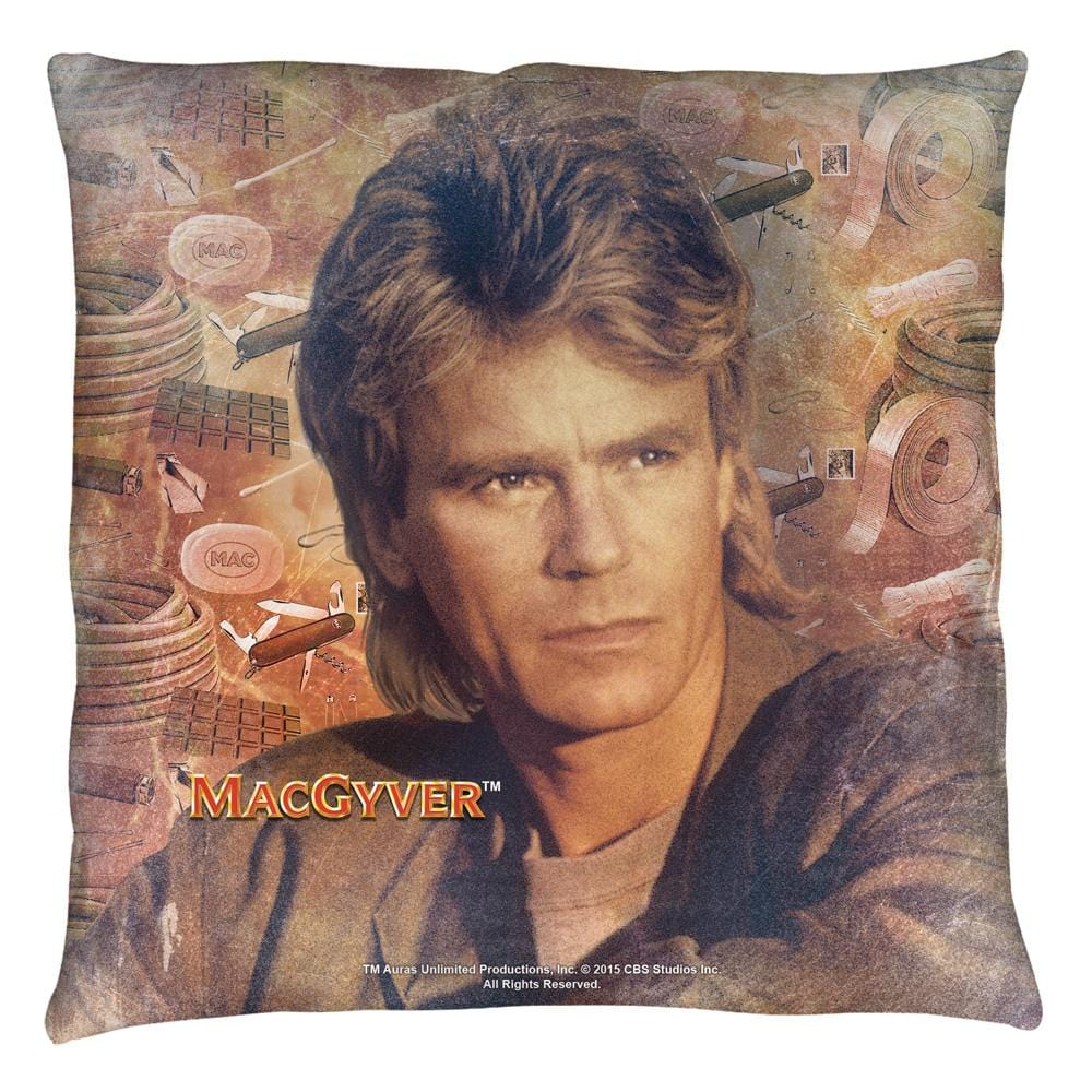 Macgyver - Tools Of The Trade Throw Pillow