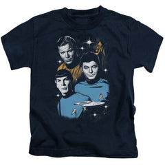 Star Trek - All Star Crew Kids T-Shirt