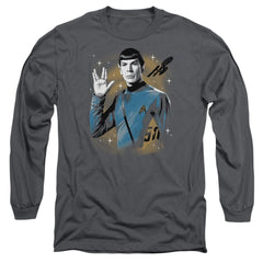 Star Trek - Space Prosper Adult Long Sleeve T-Shirt