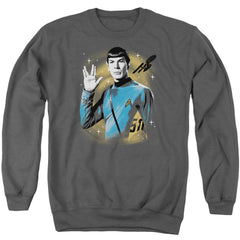 Star Trek - Space Prosper Adult Crewneck Sweatshirt