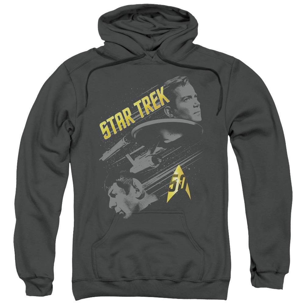 Star Trek - 50 Year Frontier Adult Pull-Over Hoodie