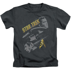 Star Trek - 50 Year Frontier Kids T-Shirt