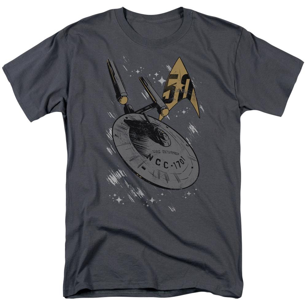 Star Trek - Enterprise Dash Adult Regular Fit T-Shirt