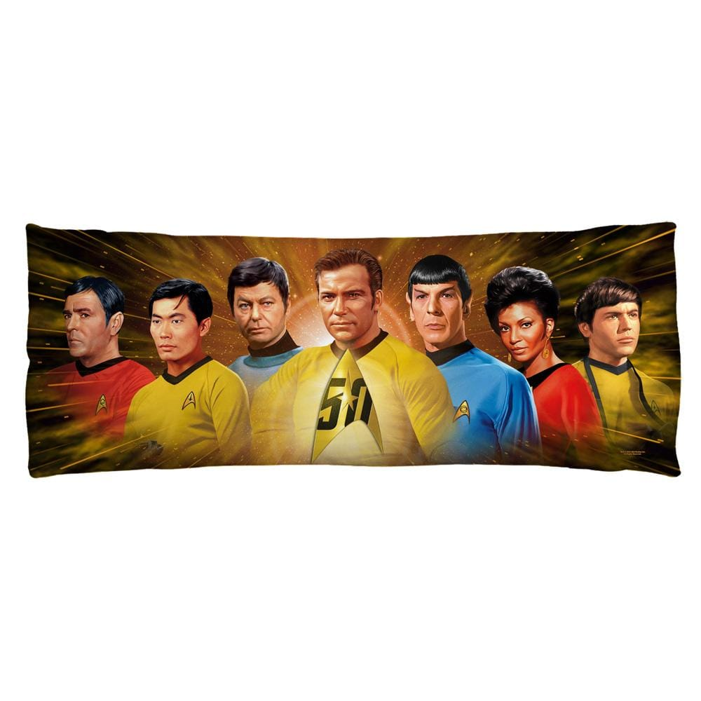 Star Trek - 50th Crew Body Pillow