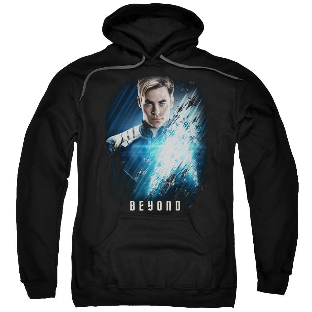 Star Trek Beyond - Kirk Poster Adult Pull-Over Hoodie