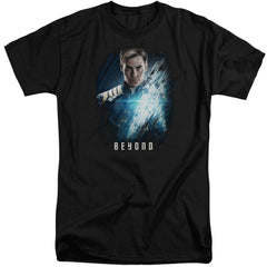 Star Trek Beyond - Kirk Poster Adult Tall Fit T-Shirt