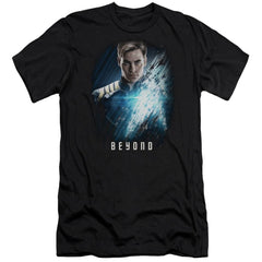 Star Trek Beyond Kirk Poster Adult Slim Fit T-Shirt
