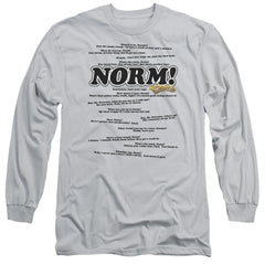 Cheers Normisms Adult Long Sleeve T-Shirt