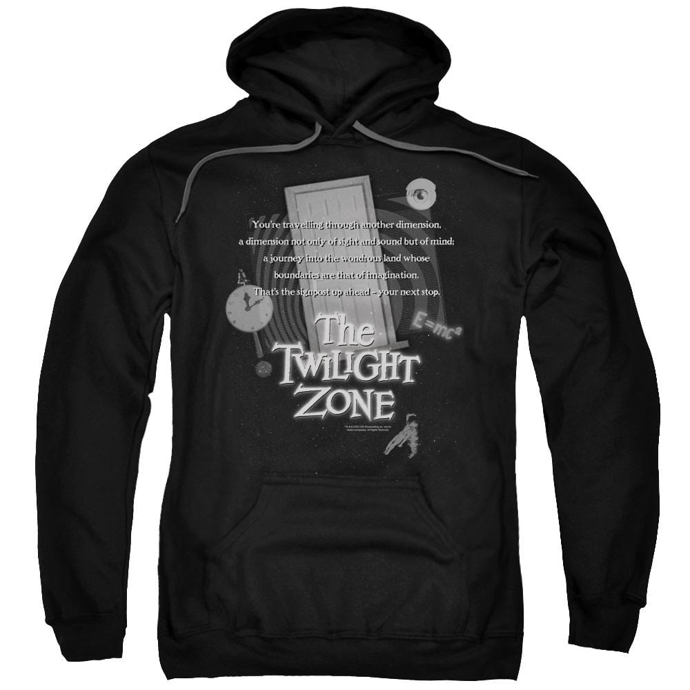 Twilight Zone - Monologue Adult Pull-Over Hoodie