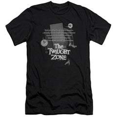 Twilight Zone Monologue Premium Adult Slim Fit T-Shirt