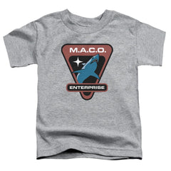 Star Trek Maco Patch Toddler T-Shirt