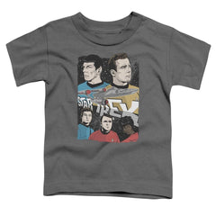 Star Trek Illustrated Crew Toddler T-Shirt