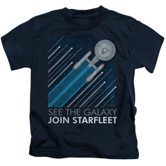 Star Trek Starfleet Recruitment Poster Kids T-Shirt