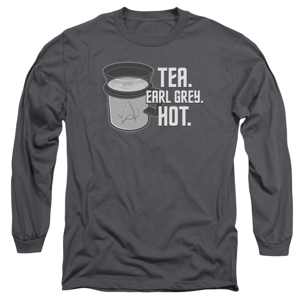 Star Trek Earl Grey Adult Long Sleeve T-Shirt