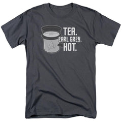 Star Trek Earl Grey Adult Regular Fit T-Shirt