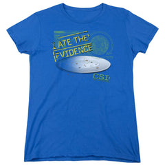 Csi - I Ate The Evidence Women's T-Shirt