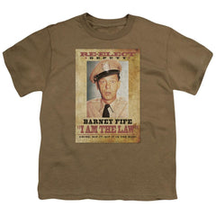 Andy Griffith I Am The Law Youth T-Shirt