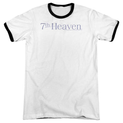 7th Heaven 7th Heaven Logo Men's Ringer T-Shirt