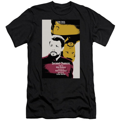 Star Trek Tng Season 6 Episode 24 Men's Slim Fit T-Shirt